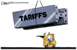 trade tariffs walmart