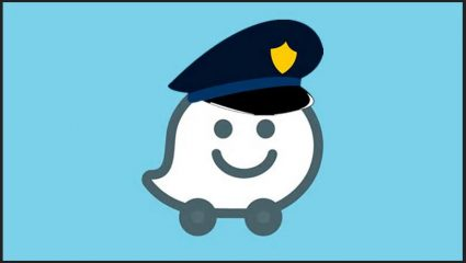 google waze local police