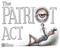 patriot act warantless searches