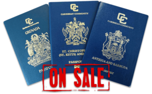 caribbean passports on sale