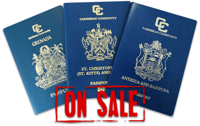 caribbean passports on sale