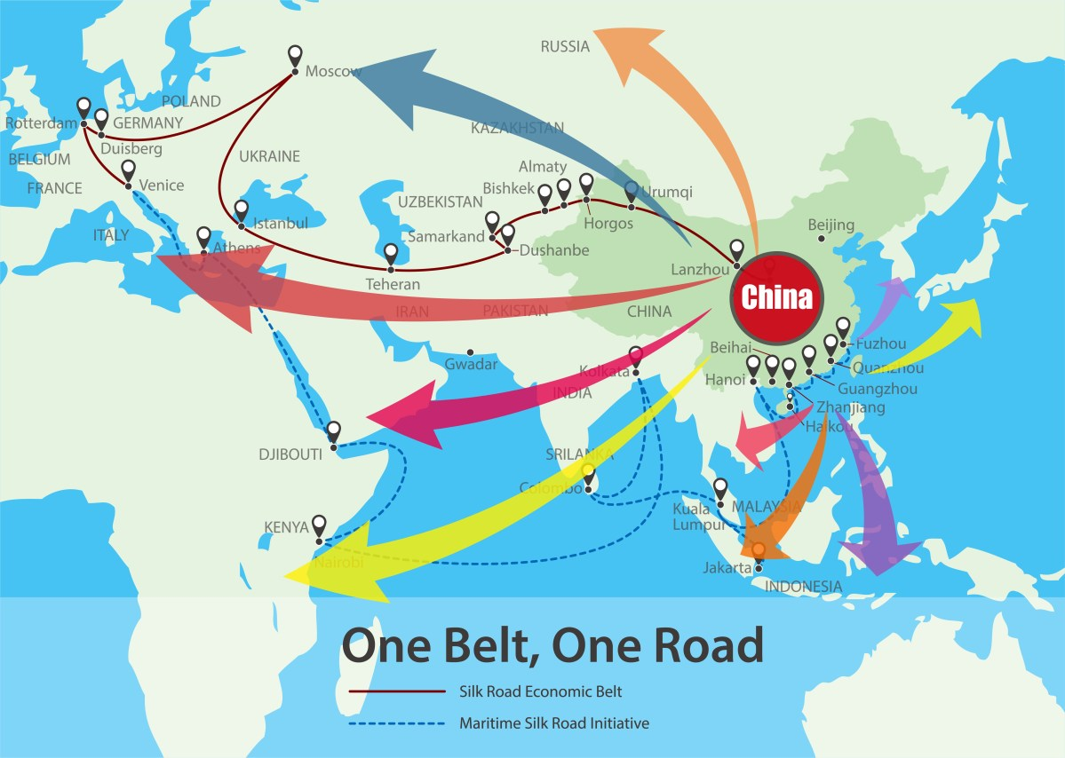 China belt and road