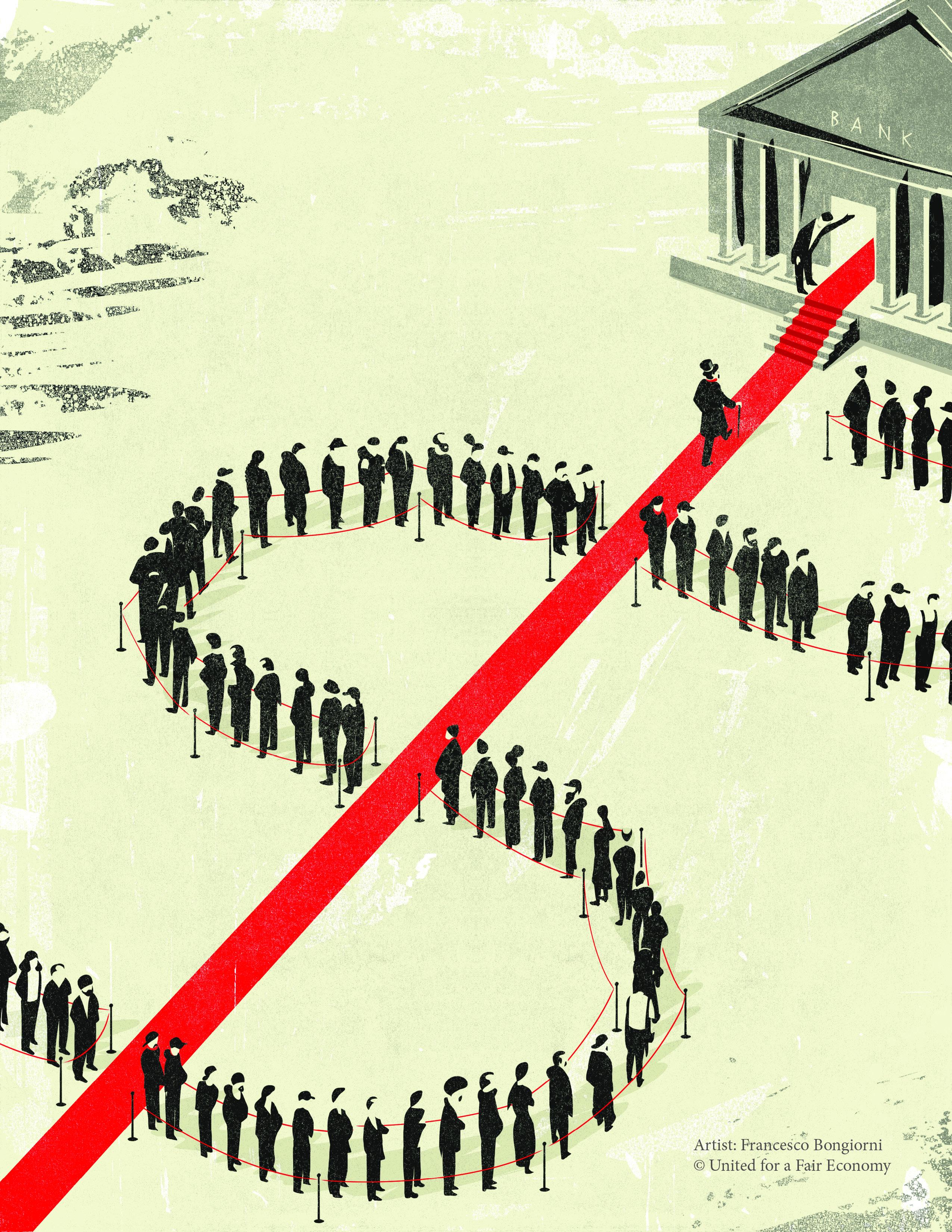 wealth divide
